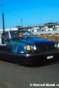 Bumper Car Art Car By Paul LeDuc