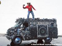 Camera Van Art Car By Harrod Blank