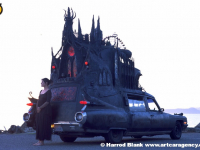 Carthedral Art Car By Rebecca Caldwell