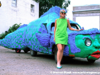 Eelvisa Art Car By Shelley Buschur