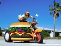 Hamburger Harley Art Car by Harry Sperl