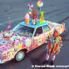 Hex Mex Art Car By Kathleen Pearson