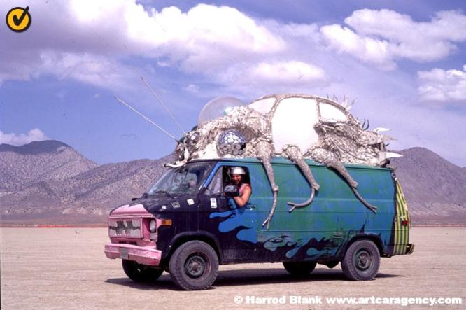 Host Art Car By Michael Gump