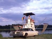 Land Yacht Art Car By Eric Lamb