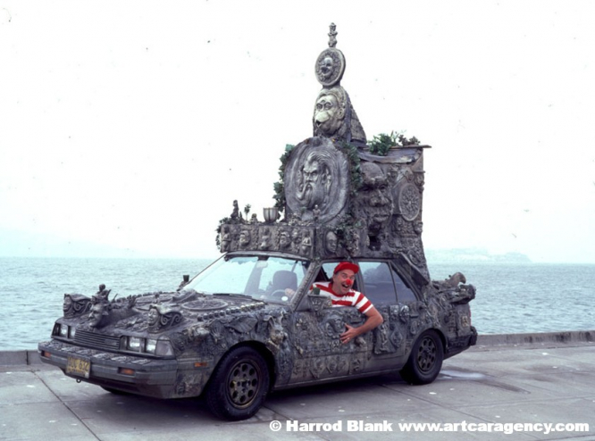 Mirabilis Statuarius Vehiculum Art Car By Scot Campbell