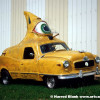 Max the Daredevil Finmobile Art Car By Tom Kennedy