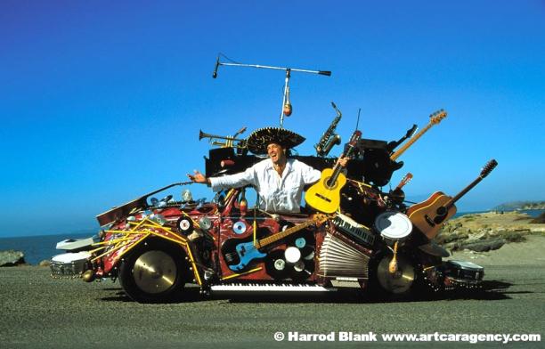 Pico De Gallo Art Car By Harrod Blank