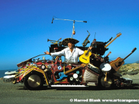 Pico De Gallo Art Car By Harrod Blank