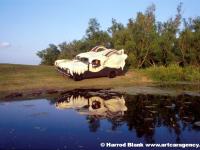 Skull Truck Art Car By Julian Stock