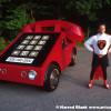 Telephone Car Art Car By Howard Davis