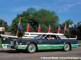 Titanic Art Car By Rick Worth