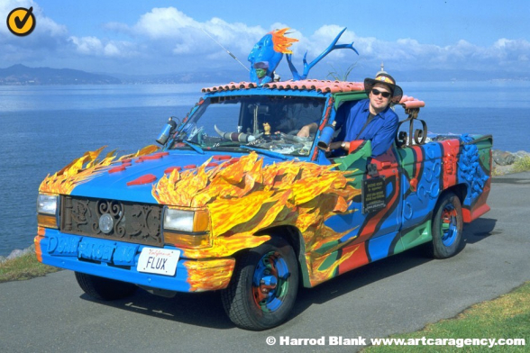 Truck N Flux Art Car By Philo Northrop