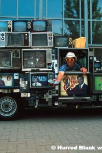 TV Truck Art Car By Dan Lohaus
