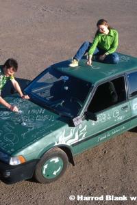 Write On! Art Car by Lissie Fein-Peter King