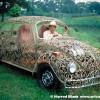 Wrought Iron VW Art Car By Joe Gomez