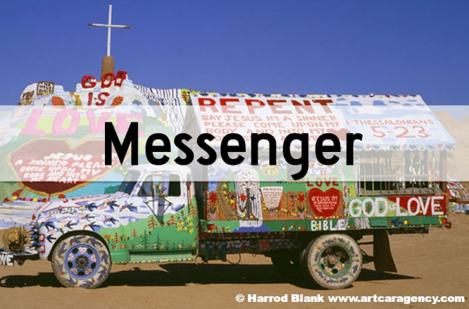 Messenger Art Cars
