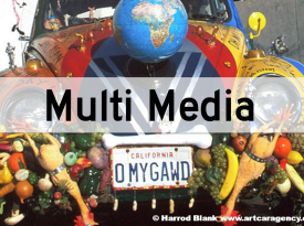 Multi Media Art Cars