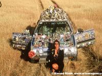 Vehicle of Enlightenment Art Car by Susan Jette