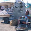 Aluminum Truck Art Car by Slim Sirnes
