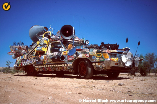 Auto Obscura Art Car by Rockette Bob