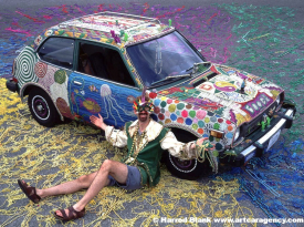 Booga Art Car by Wink