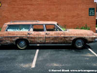 Brick Mobile Art Car by Mark Monroe