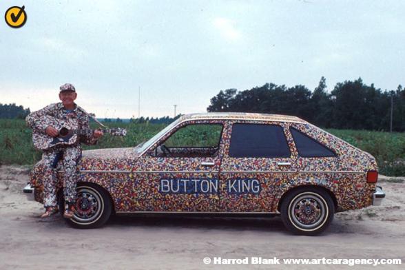 Button Car Art Car by Dalton Stevens