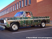 Circuit Board Truck Art Car by Doc Atomic