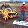 Danger Car Art Car by Reverend Linville