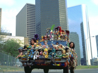 Doll Car (The Doll Car) Art Car by Colleena Hake and Philip Estrada