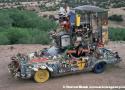 Aluminum Truck Art Car by Slim Sirnes