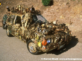 Edith Art Car by Gary Whitely
