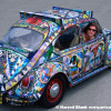 Glass Quilt Art Car by Ron Dolce