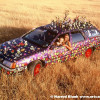 Groovalicious Purple Princess Of Peace Art Car by Avril Hughes