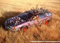 Penny Van Art Car by Steve Baker