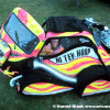Hi-Tek Hoop Car Art Car by Hoop
