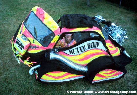 Hi-Tek Hoop Car Art Car by Hoop