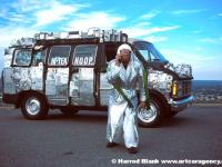 Hi-Tek Hoop Van Art Car by Hoop
