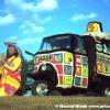Hoop's Good Luck Truck Art Car by Hoop