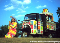Royal Hoopmobile Art Car by Hoop-Dada Symbolistic