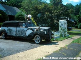 Hoop's Hearse Art Car by Hoop