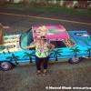 Hula Girl Art Car by Kathleen Pearson