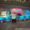 Hula Girl Art Car by Kathleen Pearson