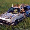 Leopoard Bernstein Art Car by Kelly Lyles