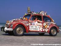 Litter Bug Art Car by Carolyn Stapelton