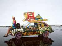Make My Movie Art Car by Dennis Woodruff