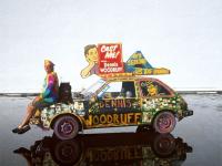 Make My Movie Art Car by Dennis Woodruff