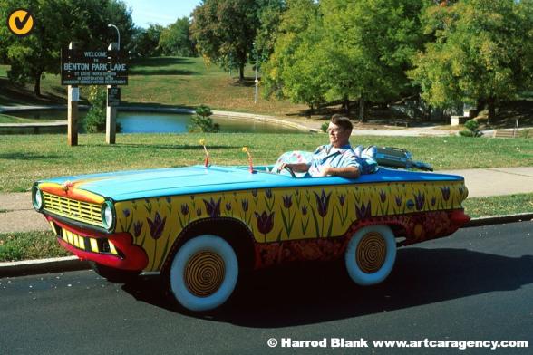Miss Vicky Art Car by Dean Pauley