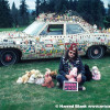 Jesus Chrysler Art Car by Reverend Linville