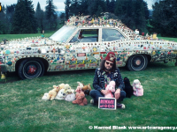 Our Lady Of Eternal Combustion Art Car by Reverend Linville